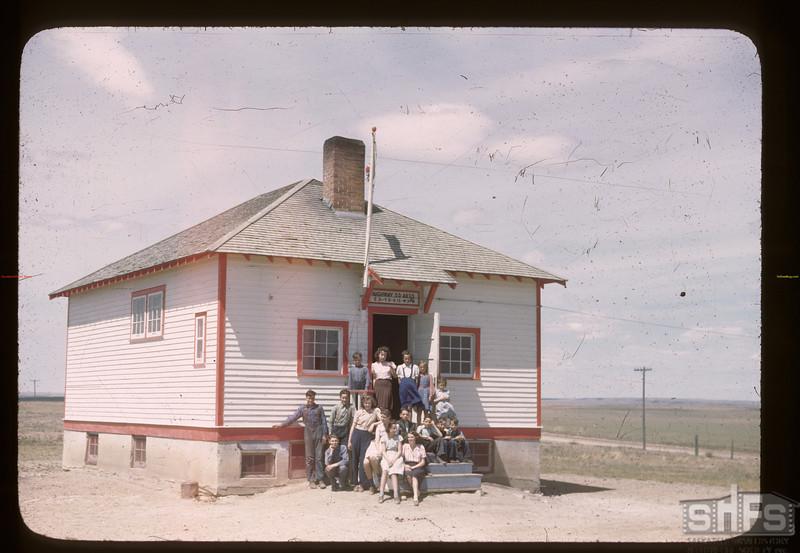 Highway school - 4 miles north of Cadillac. Cadillac. 06/05/1946