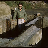 Tony Ranere guard walk post near Stockade. Fort Carleton. 06/20/1966