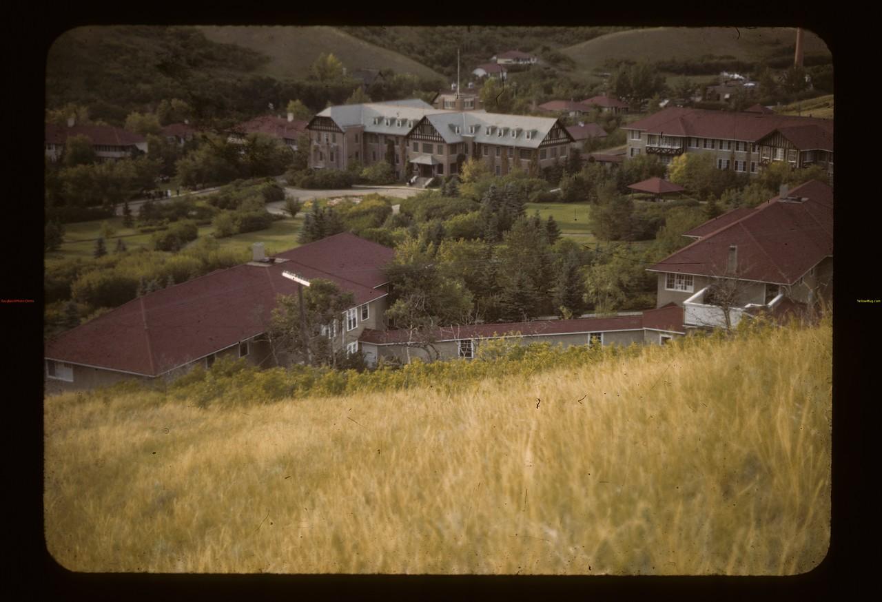 Fort San. - sanitarium. Fort Qu'Appelle. 08/21/1943