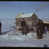 Jackfish Lake (ice fishing). Meota. 01/06/1942