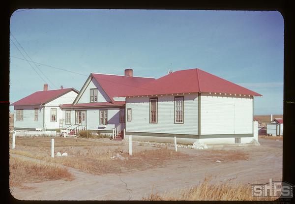 Climax school dorm. - Mrs. Haddleton - Matron. Climax.  11/03/1950