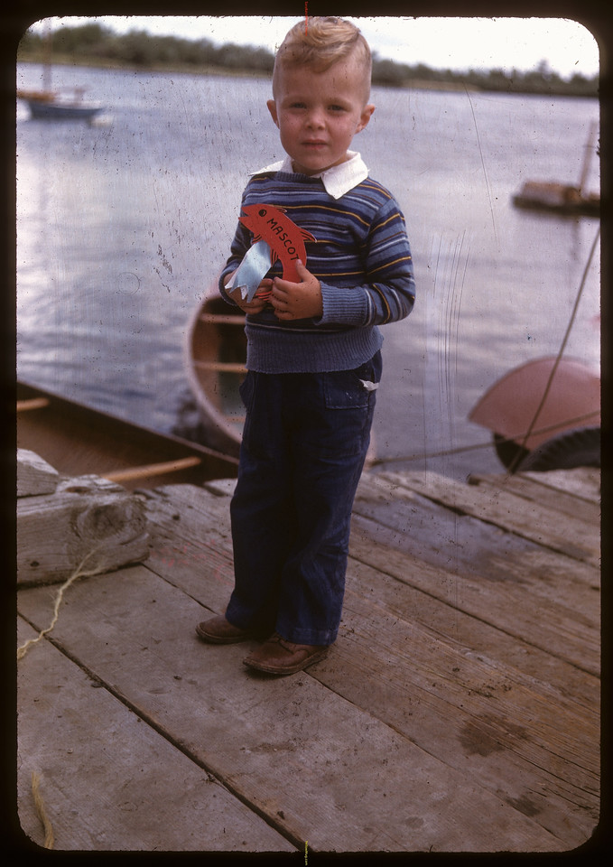 Bob Hughes at the Regina Boat Club. Regina 08/16/1947