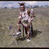 Shaunavon Jubilee - Harris Rock in Native costume. Shaunavon. 07/18/1963