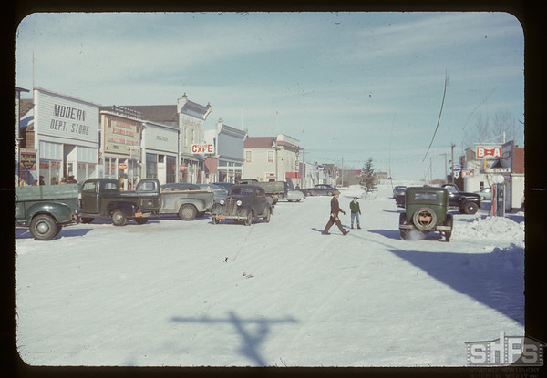 Main street.  Climax. 01/09/1951