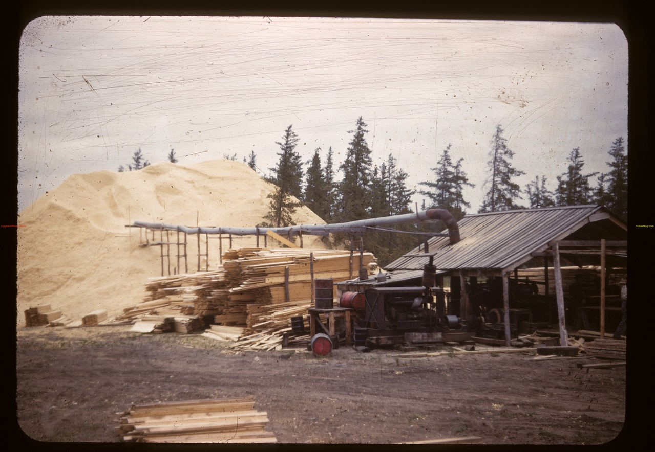 Planing mill. Carrot River. 08/21/1947