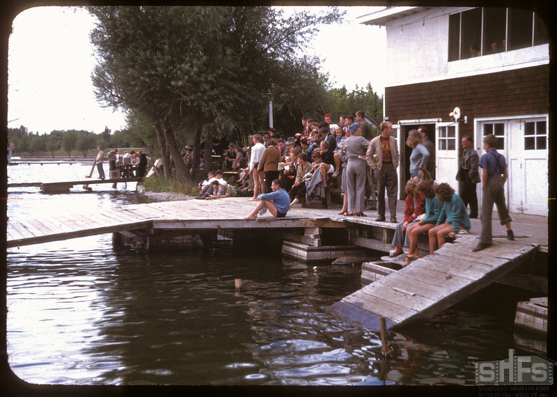 Regina Boat Club swim meet. Regina 08/16/1947