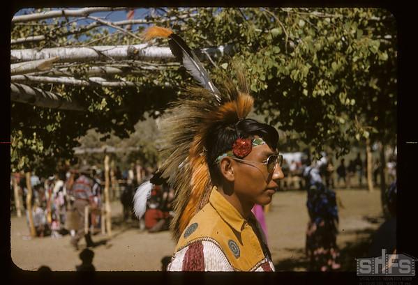 Sioux Pow Wow. Fort Qu'Appelle. 08/18/1957