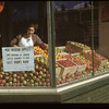 Melfort Co-op store window. Melfort. 09/28/1946