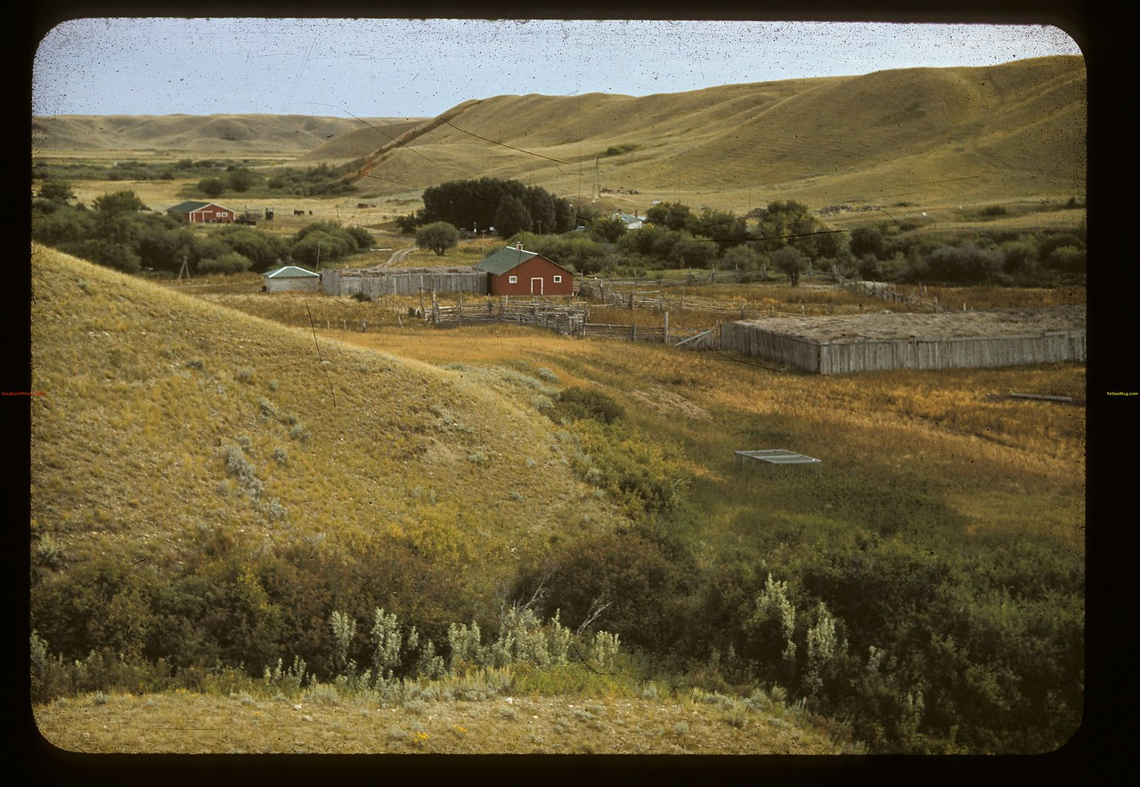 Gilchrist Brothers [ranch house]. Largest ranch in Canada. Maple Creek. 09/11/1941