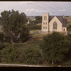 Lumsden United Church and Pool elevator. Lumsden.  08/10/1947