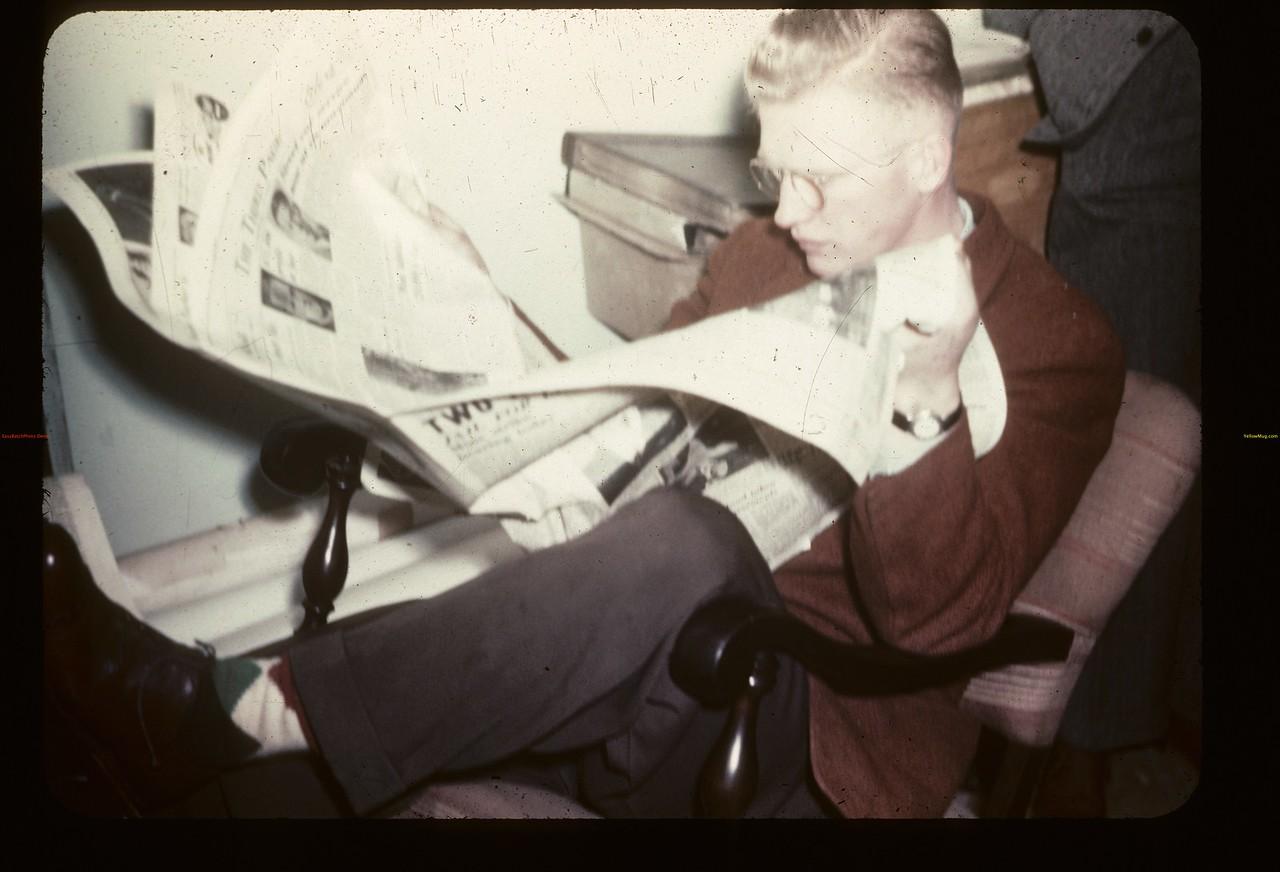 The Boss- Gavin Hamilton. Y-T-S. Kenosee.  11/26/1946