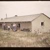 """Tony Derringer's """"Mud House"""".  Built in 1926. Mankota. 08/25/1960"""