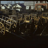 Harry Ford and Red River Carts - back of shoe factory. Regina 11/11/1954