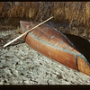 The Chief's birch bark canoe. Loon Lake.  10/29/1943