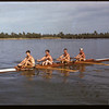 Four seater shell on Wascana Lake. Regina 08/03/1947