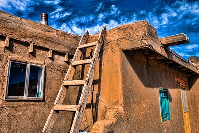 Residence, Taos Pueblo, NM (MRP-147)