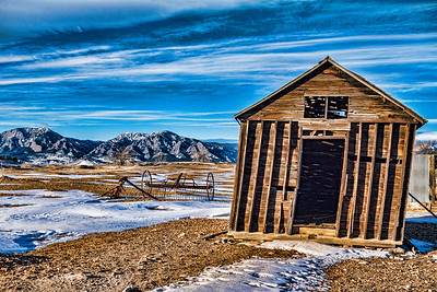 Falling Shack, Boulder County, CO (CP-144-2014-01-11)
