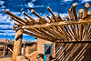 Log Roof, Taos Pueblo, NM (MRP-146)