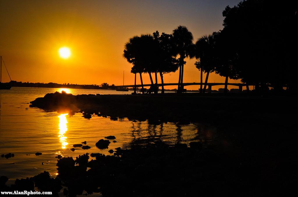 Marina Jack Silhouette at Sunset