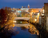 Cradock: Fall Night5:42 PM / Nov / Medford Sq.Clear evening