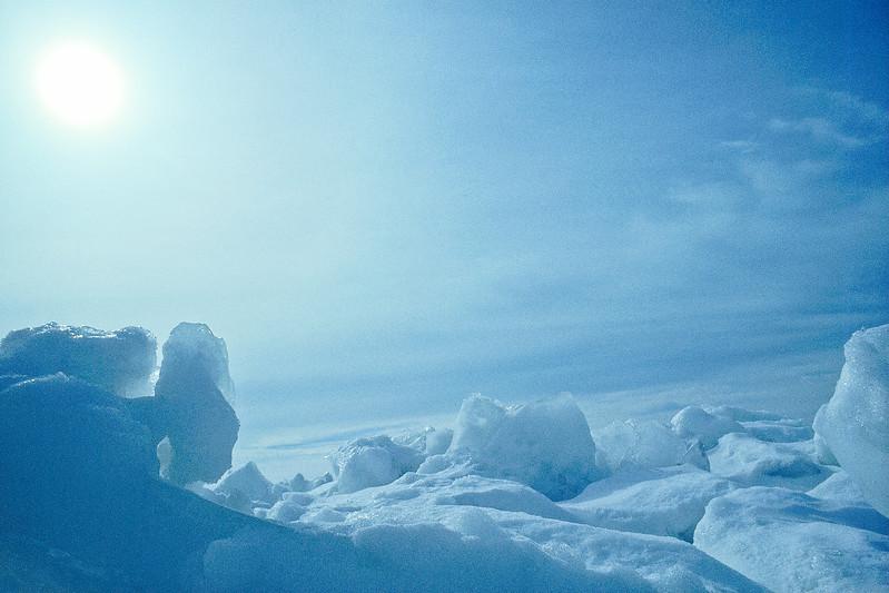 Blue Ice Field