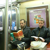 Catcher In The Rye on the A Train