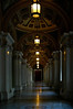 To the Reading Room - an interior hallway in the Jefferson Building, Library of Congress
