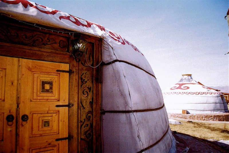 Yurts Tuva March 2014