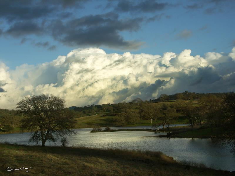Camp Far West Reservoir, CA.