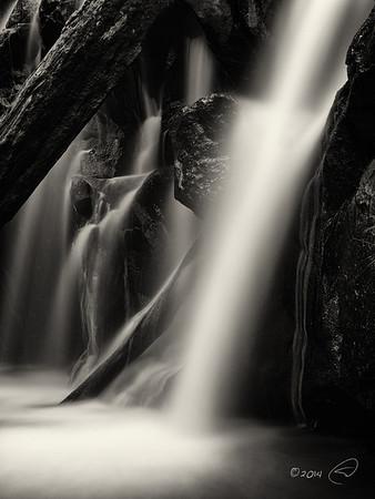 Red Rock Falls, Lewis Creek