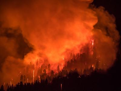 El Portal Fire Images