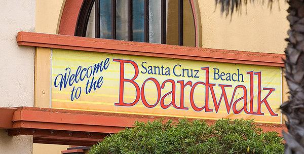 Signs of the Boardwalk - Santa Cruz, CA
