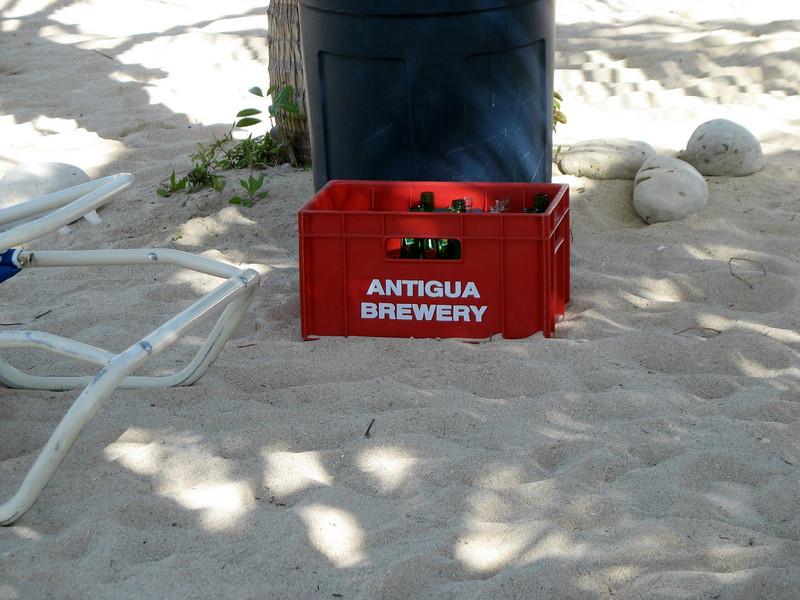 Wadadli beer. (Antigua)