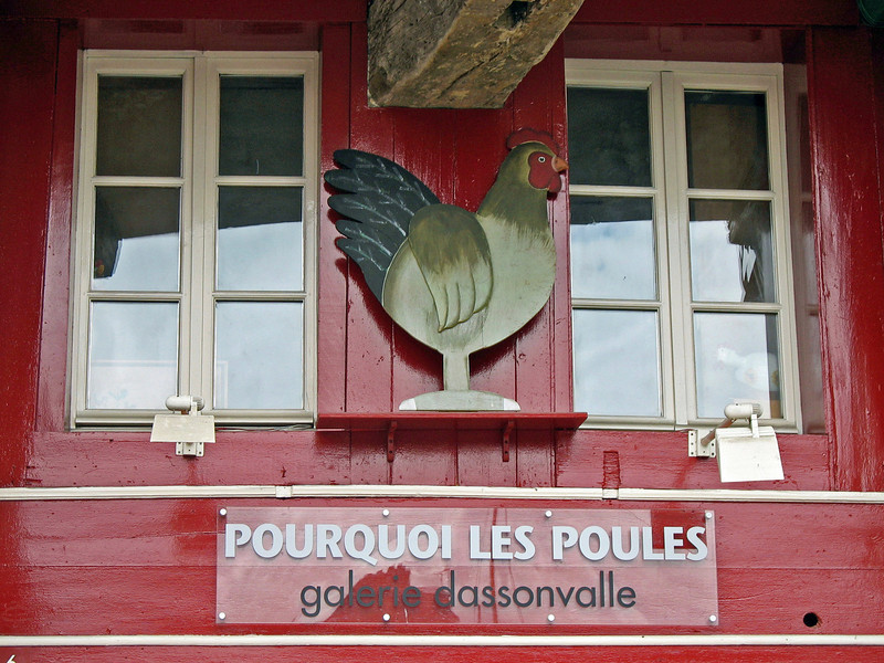 Why Chickens? (Honfleur, France)