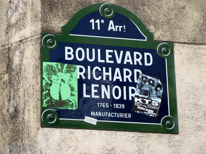 'Our' boulevard in Paris.