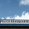Service with knowledge, courage & integrity. (Tortola Police Headquarters)