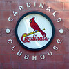 Minor league Cardinals Clubhouse. (Jupiter, Florida)