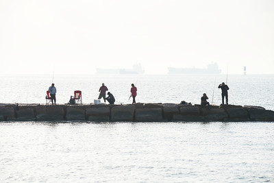 Fishing the Jetty at Bolivar
