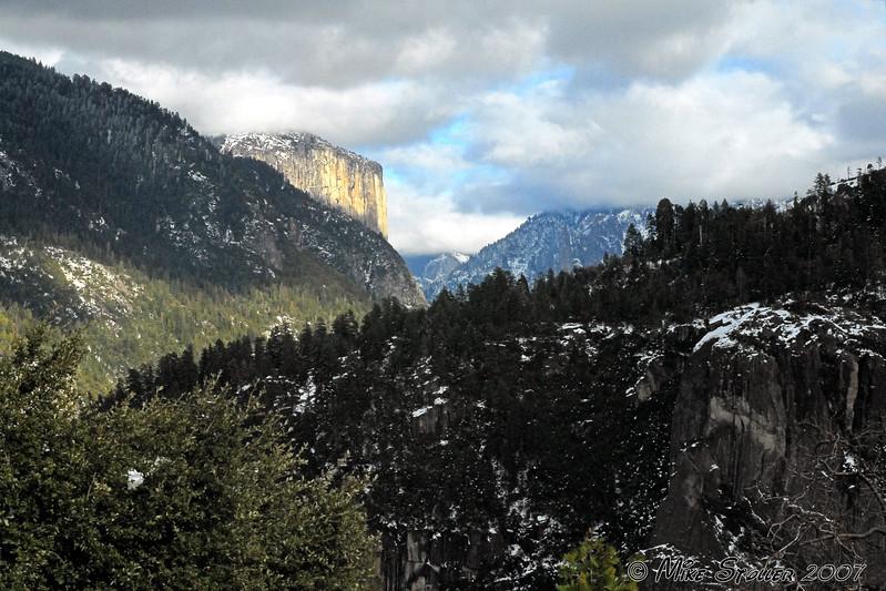 Peak into the Valley, Yosemite, CA