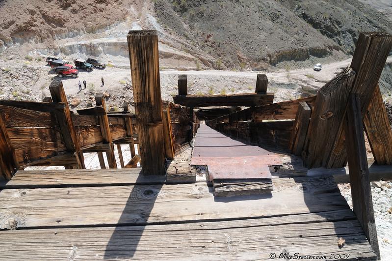 Pleasanton Mine, Ibex Hills, CA