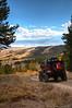 Jeep, Fall Color and Mono Lake, CA