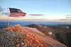 Mt Patterson, Patriotic Sunrise