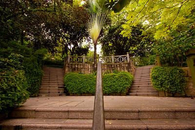 Garden stairs, Singapore
