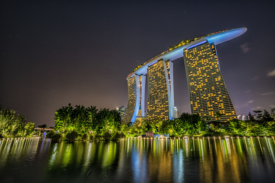 Marina Bay Sands, night