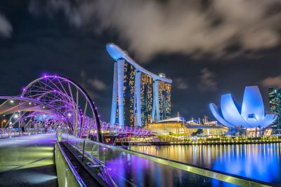 Marina Bay area, Singapore