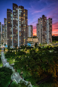 Sunset @ Ghim Moh Link Estate