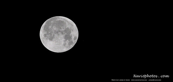 """Supermoon 2012""  photo taken in SW Florida on 5/5/2012 - Day Moon closest to Earth"