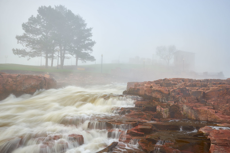 Big Sioux River, Fog and Wheel House