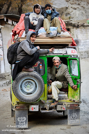 Public Transport in Skardu