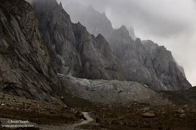Route to Siachin Glacier and Siachin Battle field.